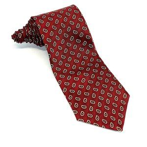 Oscar De La Renta Men's Silk Paisley Tie Necktie